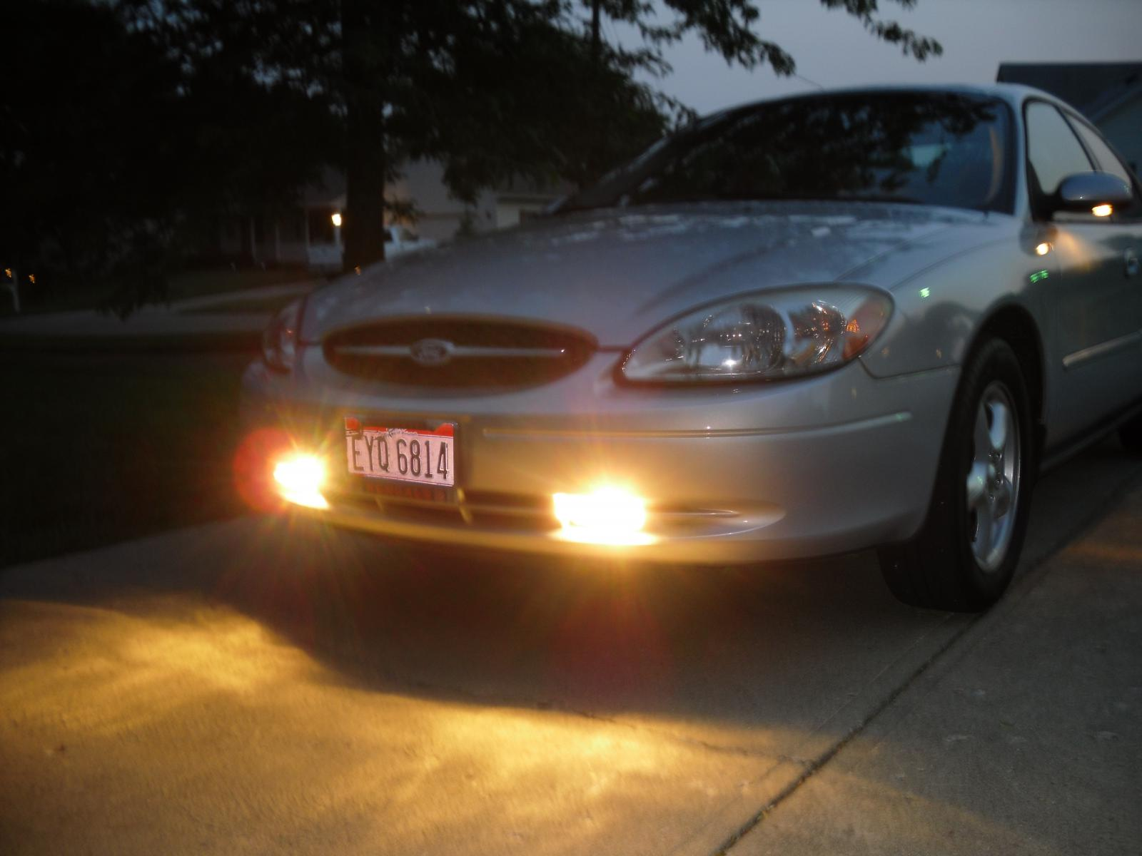 D New Fog Lights Installed on 2006 ford taurus starter location