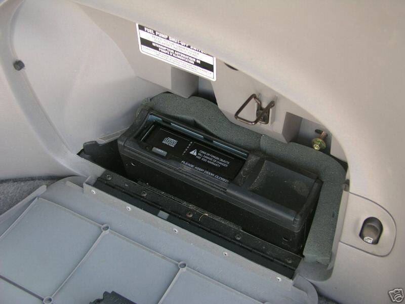 Help Where To Install The Cd Changer In Wagon 2000