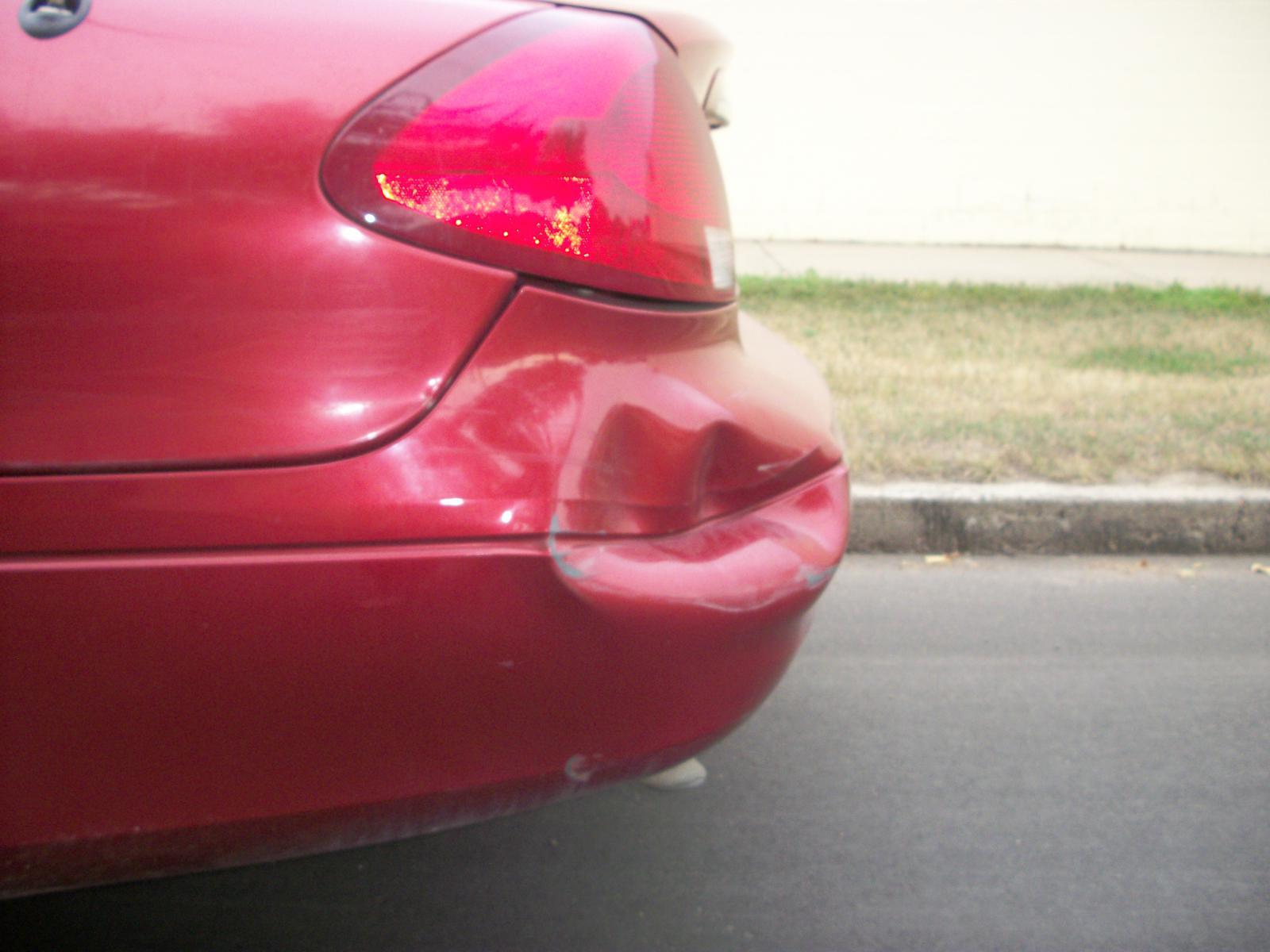 Car Paint Gun >> Massive rear bumper dent - Taurus Car Club of America : Ford Taurus Forum
