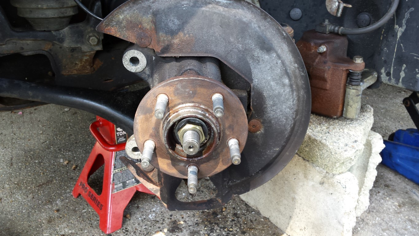 D Front Wheel Bearing Hub Replacement on Ford 3 0 Engine Problems