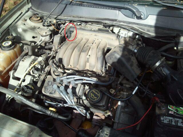 Can Someone Ploease Get A Picture Of The Pcv Valve Location 04 Rhtaurusclub: 2001 Ford Taurus Pcv Valve Location At Gmaili.net
