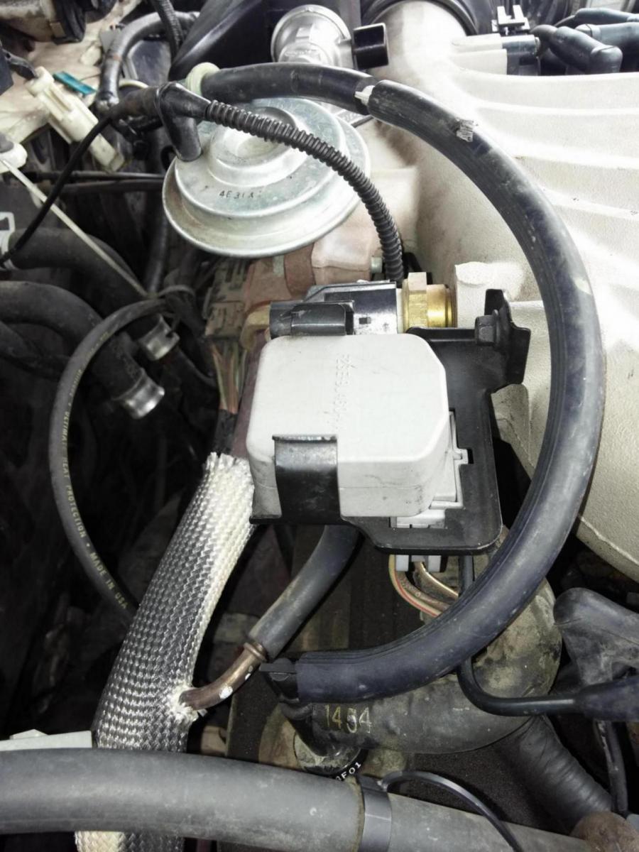 D Vacuum Line Nightmare Taurus on 1994 Ford 5 0 Engine