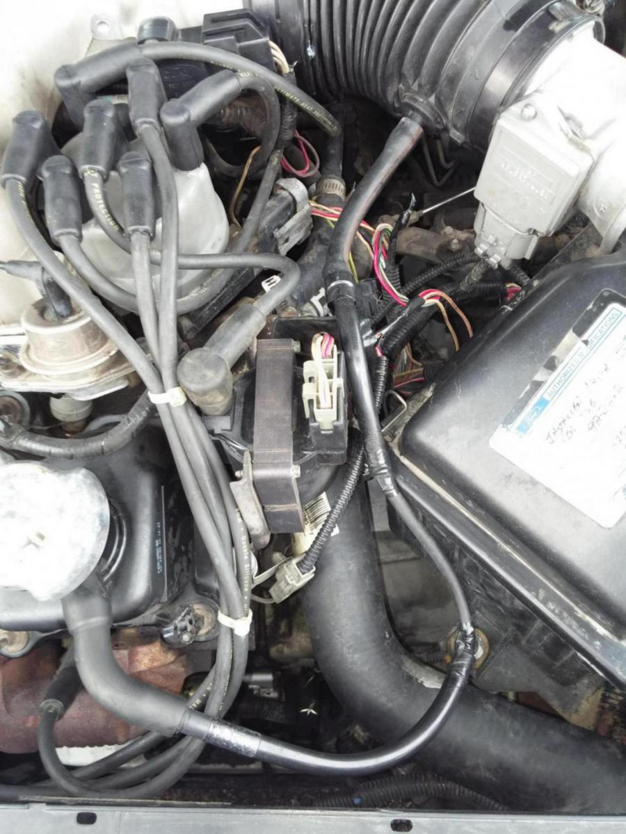 Vacuum line nightmare 1994 taurus 3.0 - Taurus Car Club of ...
