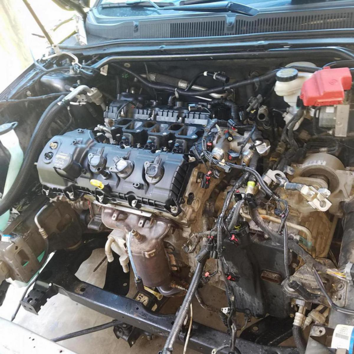 Ford 2 3 Engine Review: How To Separate A 2013 Ford 3.5l Cyclone From Awd