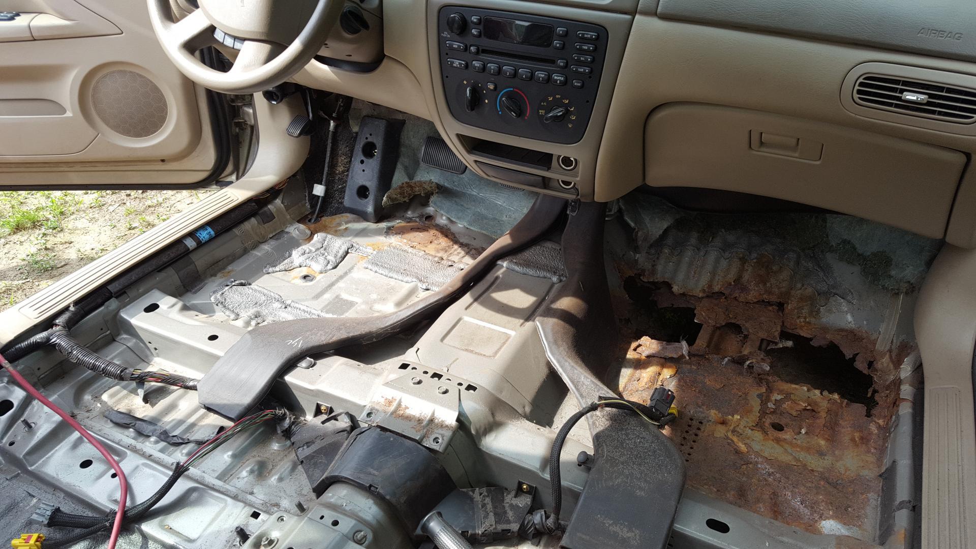 D Need Floor Pans Taurus Se on 2005 Ford Taurus Engine