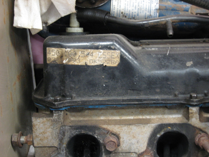 Where A 1990 Ford Taurus 3.8l Engine Number Located?-232-serial-number-rear.jpg