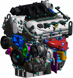 D Waterpump Taurus Sable Px Ford Duratecengine on Ford 3 0 V6 Engine Diagram