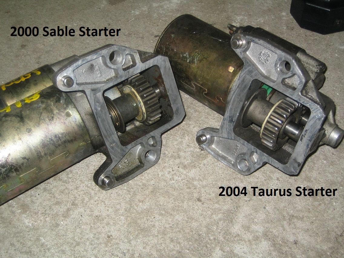 D Taurus Dohc Chewed Up Flywheel on 2003 Ford Taurus Sel