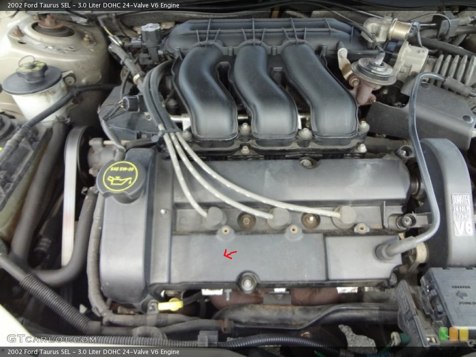 2001 Duratec Dohc Oil Leak W   Picture