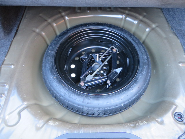 What Size Tire >> Spare tire compartment - Taurus Car Club of America : Ford Taurus Forum