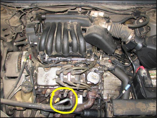 D V Vulcan Engine Front Middle Spark Plug Issue Ac Hose