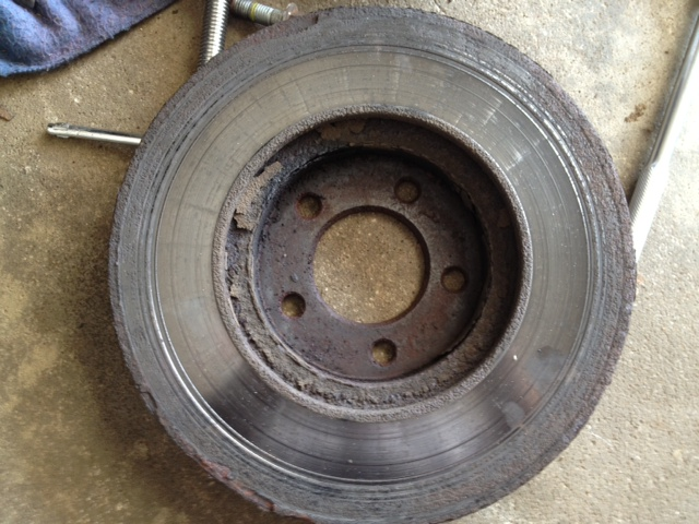 D Opinions Welcome Brake Rotor Damage Brake Rotor on 2014 Ford Taurus