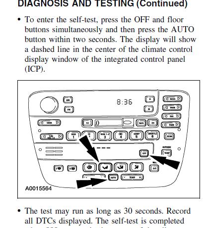 2002 Taurus Climate Control Problem - Taurus Car Club of America