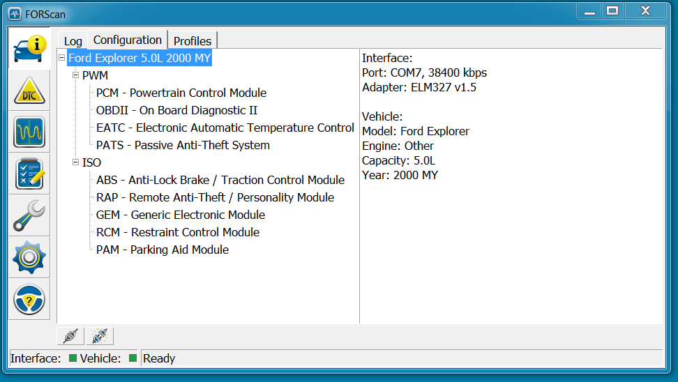 Freeware scan tool software: FORScan | Page 2 | Taurus Car
