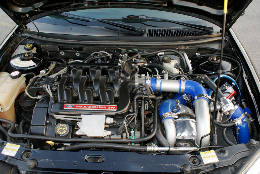 D Supercharged Engine Taurus Cougar