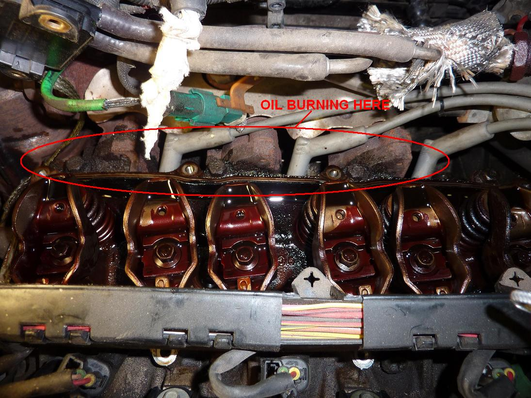 Burn Smell And Smoke Under Hood Taurus Car Club Of America Ford 2008 Mercury Sable Passenger Compartment Fuse Panel Relay Code Click Image For Larger Version Name Cps Valvecovergasket3 Views 2326 Size 2027