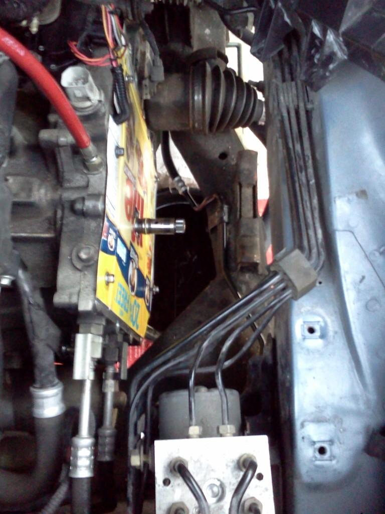 Replace Torque Converter Without Dropping Trans Ax4n