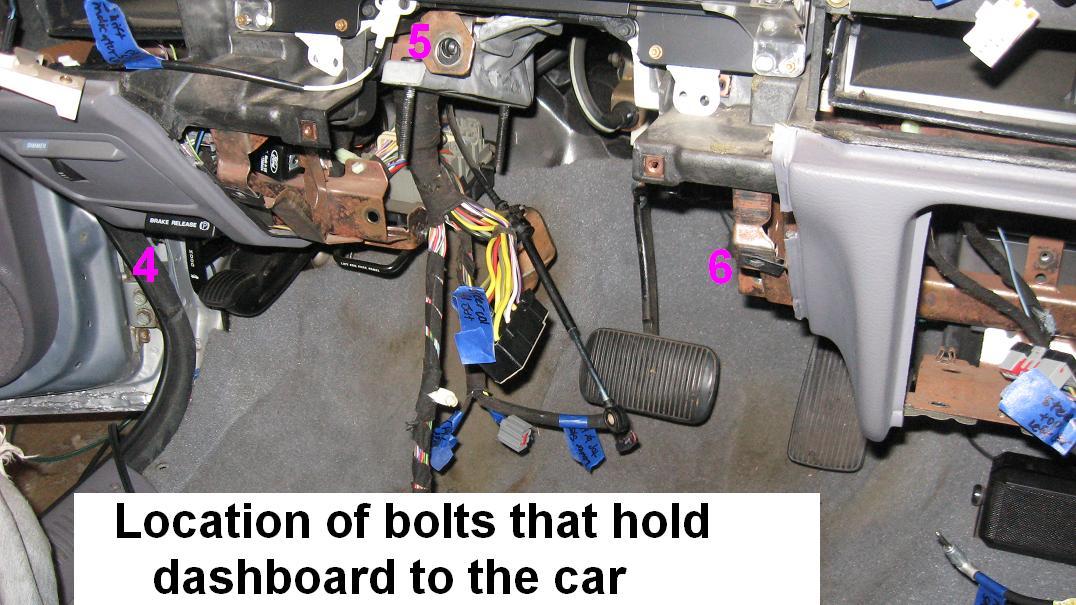 Heater Coreevaporator Replacement Gen 1 2 Taurussable Taurus Rhtaurusclub: Ford Taurus Heater Core Location At Gmaili.net