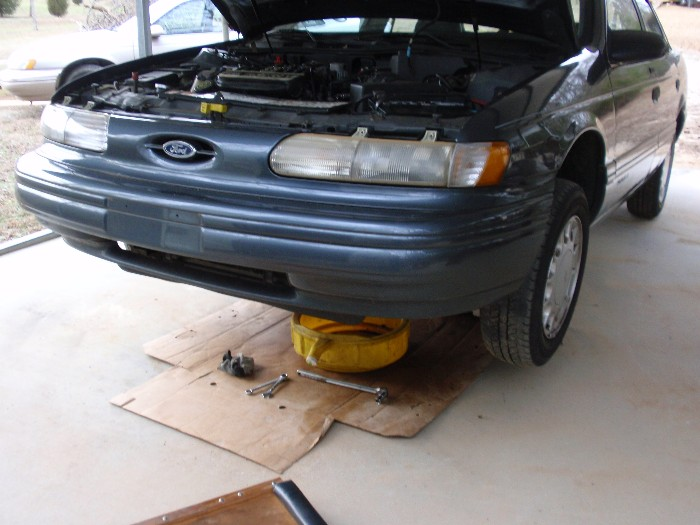 Barkentine's 1993 Taurus Project Car-day-1-lx-project-03feb2013-002b.jpg