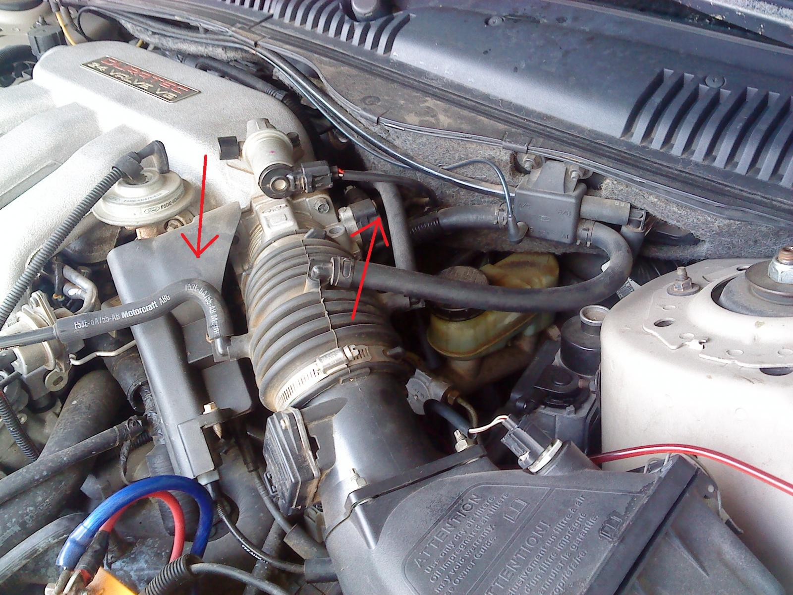 Duratec 1996 vacuum leak, won't idle. - Taurus Car Club of America : Ford  Taurus Forum