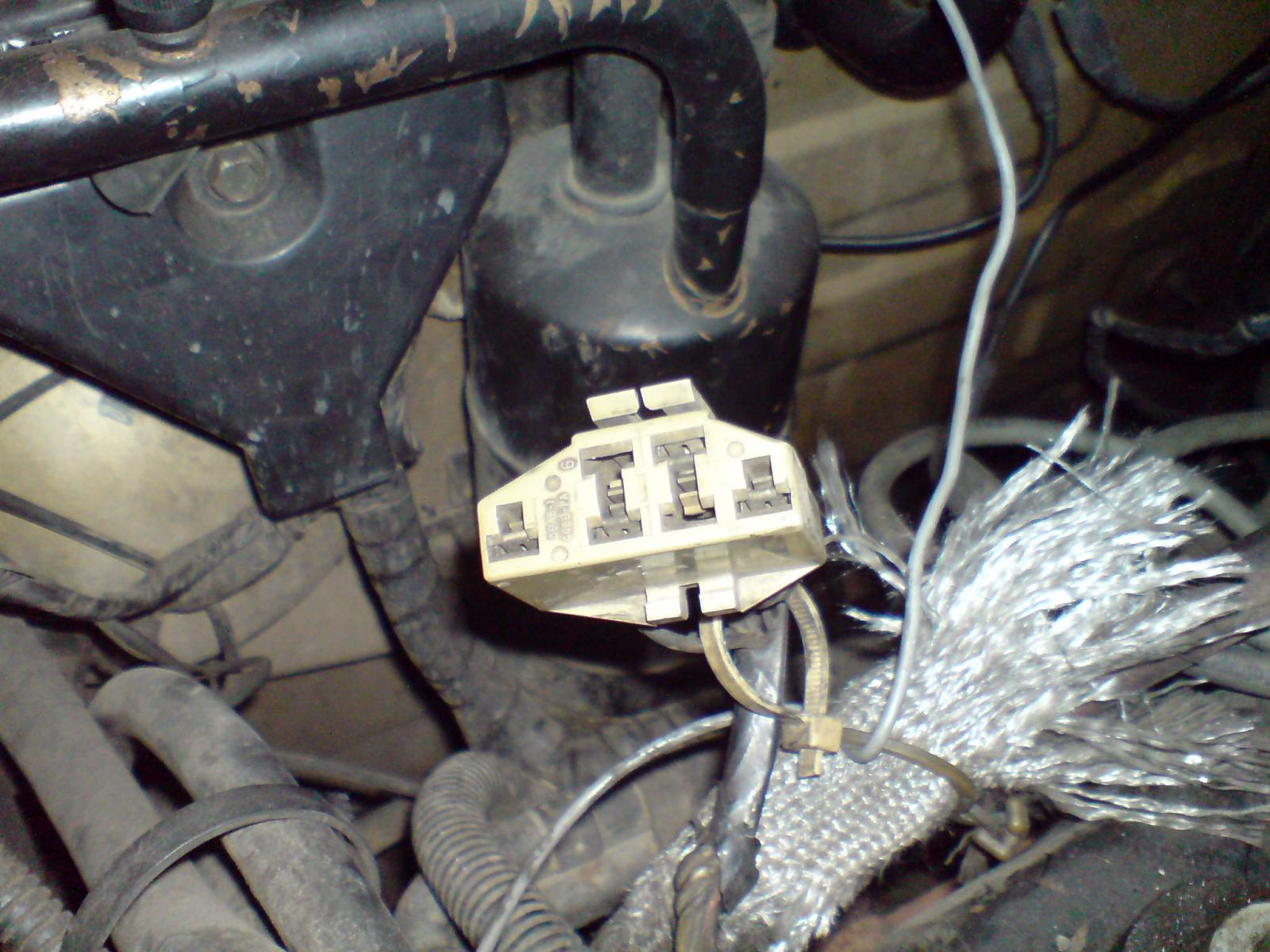 Diagnostic Connector On 1992 Sable 3 0 (Vulcan