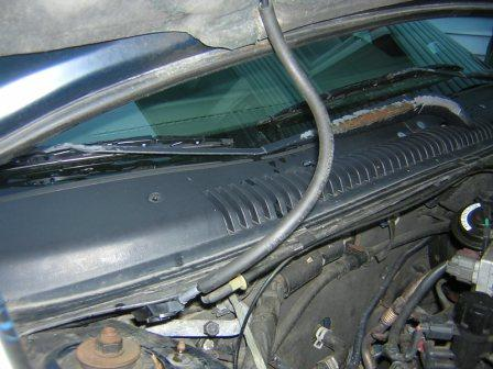 Windshield Washer Fluid Tube Issue     Taurus    Car Club of