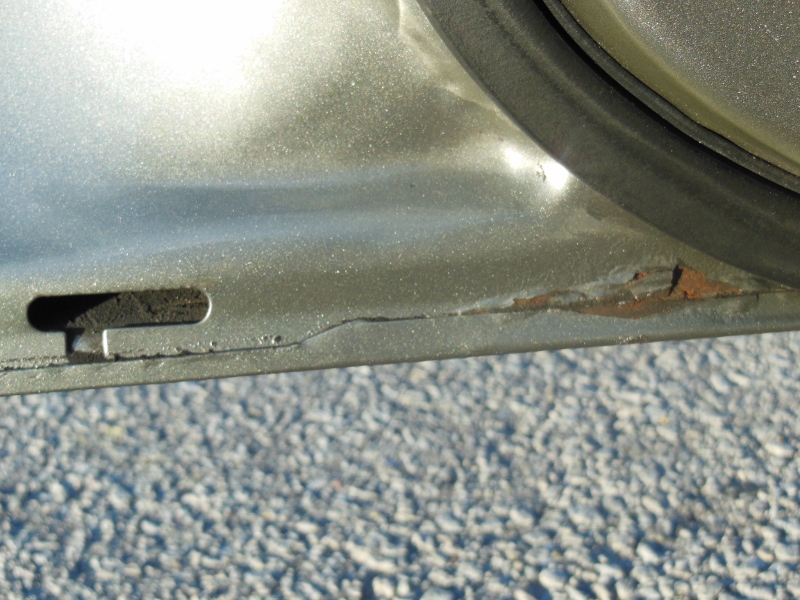 how to fix small rust spots on car