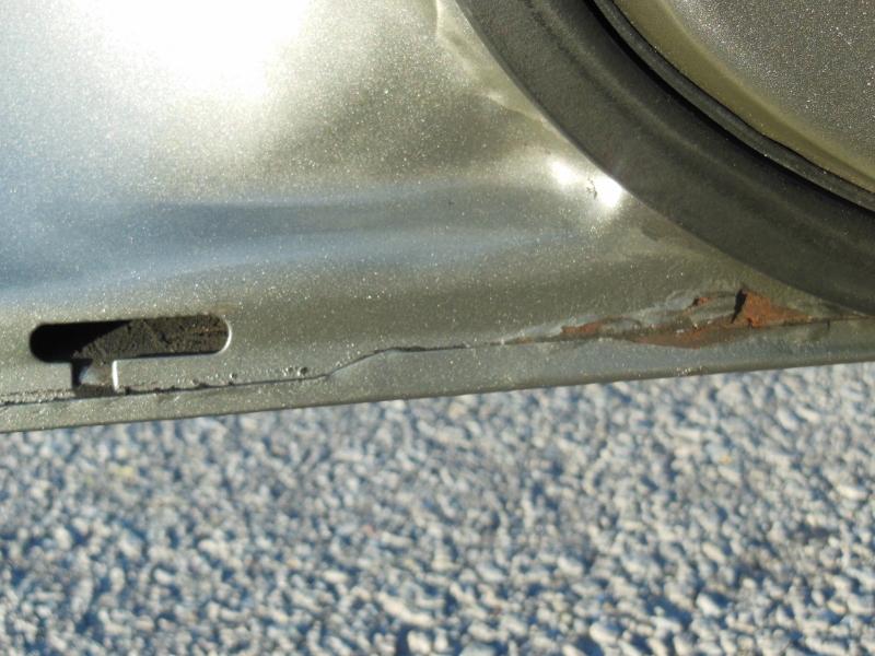 Best Method To Fix Rust Spot On Door Seam Minor Taurus
