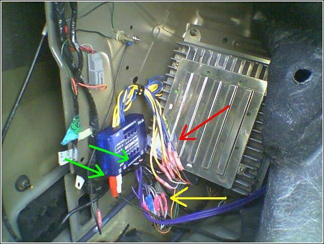 amp and woofer to rcu unit taurus car club of america ford rh taurusclub com Ford Taurus Parts Diagram Ford Taurus Parts Diagram