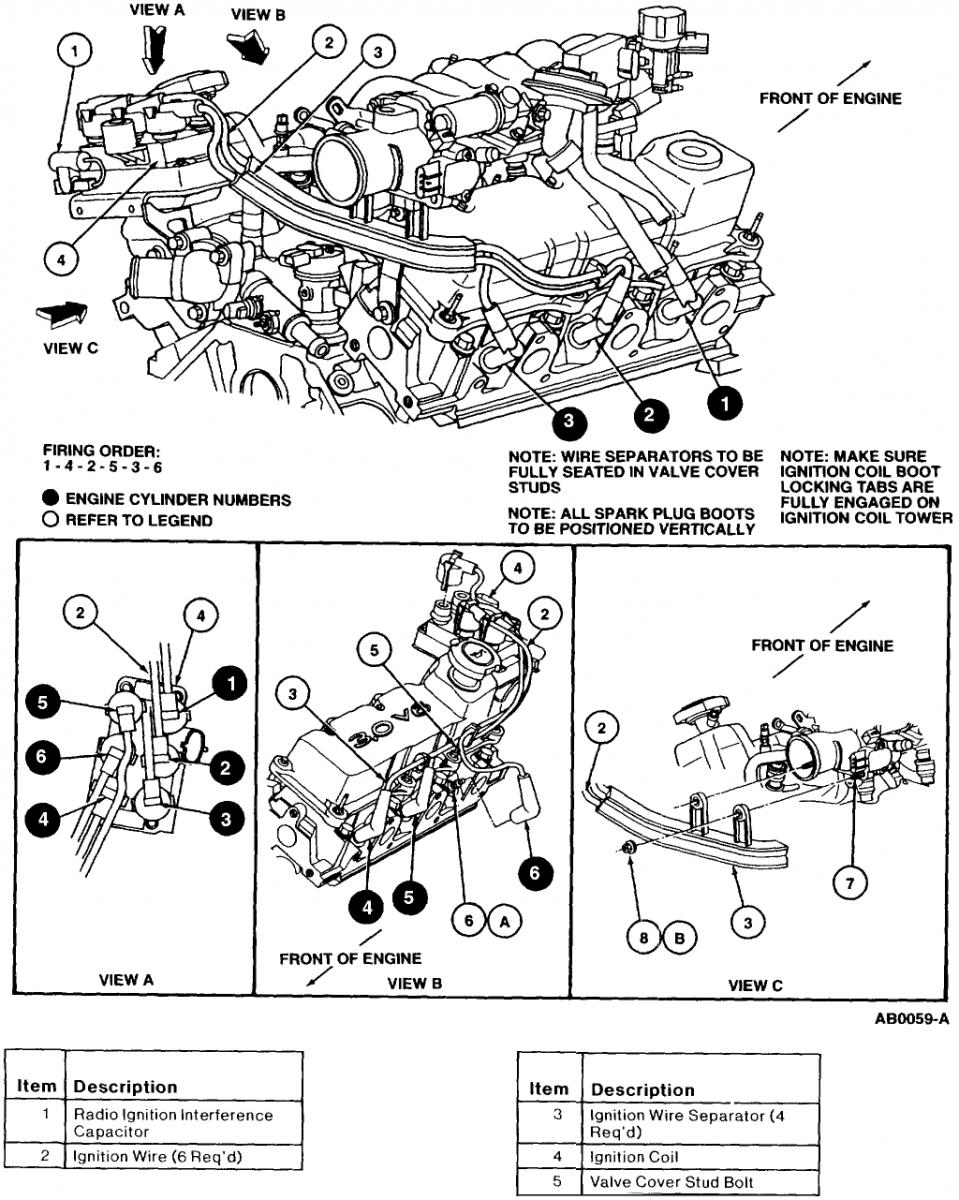 Ford Engine Diagram : Ford taurus engine diagram free
