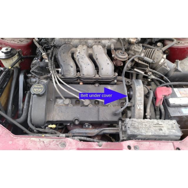 D Taurus Duratec Overheat No Heat Engine Arrow on 2003 Taurus Red