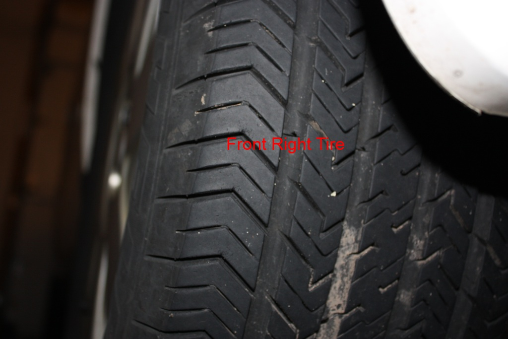 D Tire Rotation Pattern My Tires Front Right