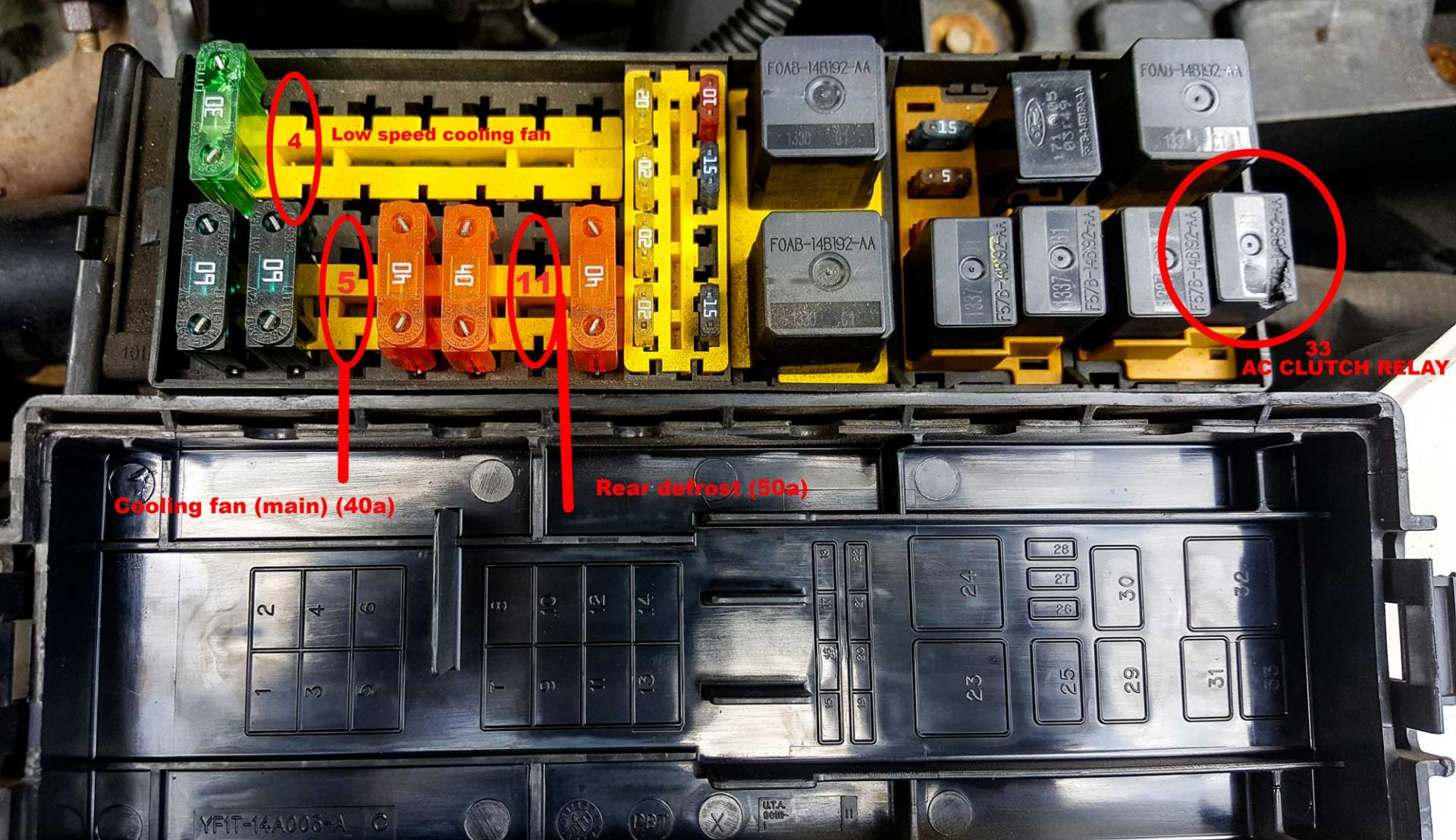 Diagnosing Electrical Problem Fuse Box 2002 Ses