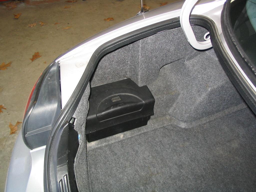 Starter Location On 2000 Ford Taurus