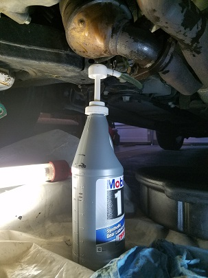 Easier Oil Change Method For Ptu With Drain Plug Taurus