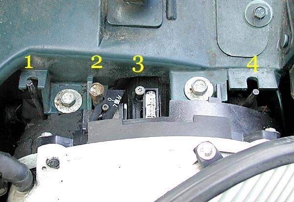 2000 Ford Taurus Headlight Adjustment