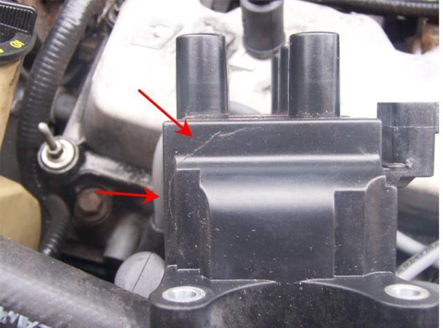 D Duratec Misfire Cylinder Cylinder Ignitioncoilcrack on 2005 Ford Escape Spark Plug Diagram