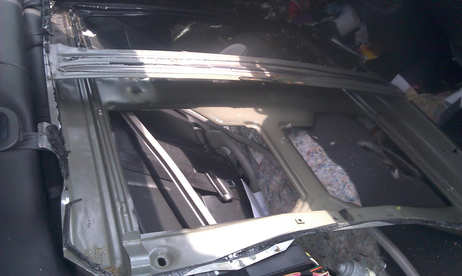 adding a factory moonroof page 10 taurus car club of america