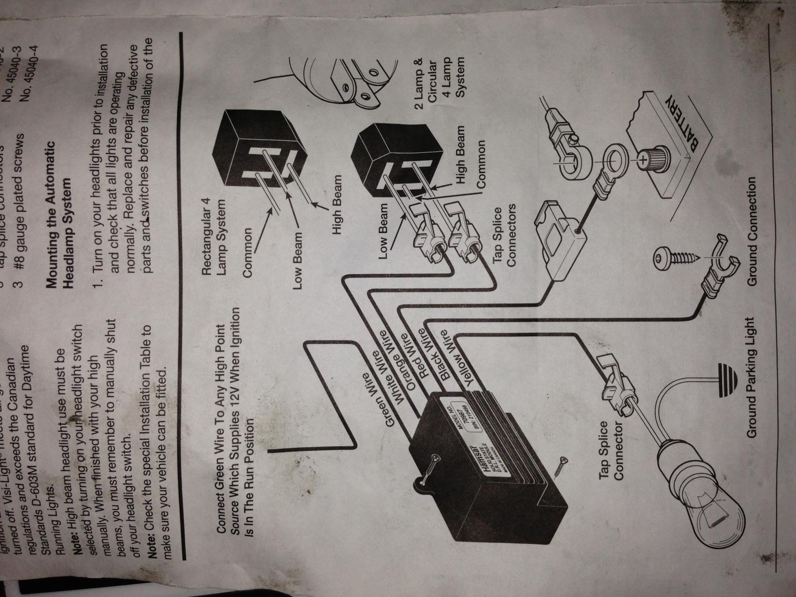 D Help How Install Daytime Running Light Drl Module Taurus Image on 1998 Jeep Wiring Diagram