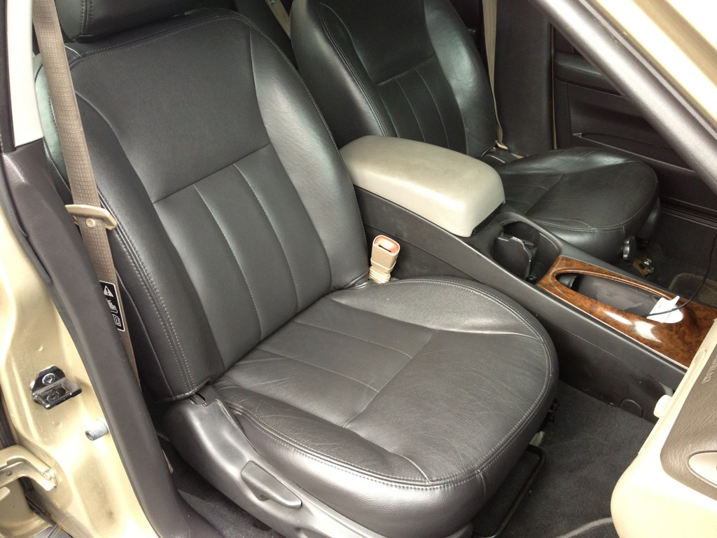 You can remove the center seat and add a solid console imageuploadedbyag