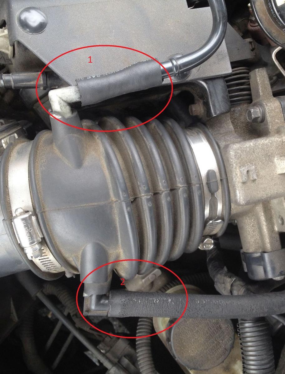 Check Engine Light On P0171 And P0174 Codes Taurus Car