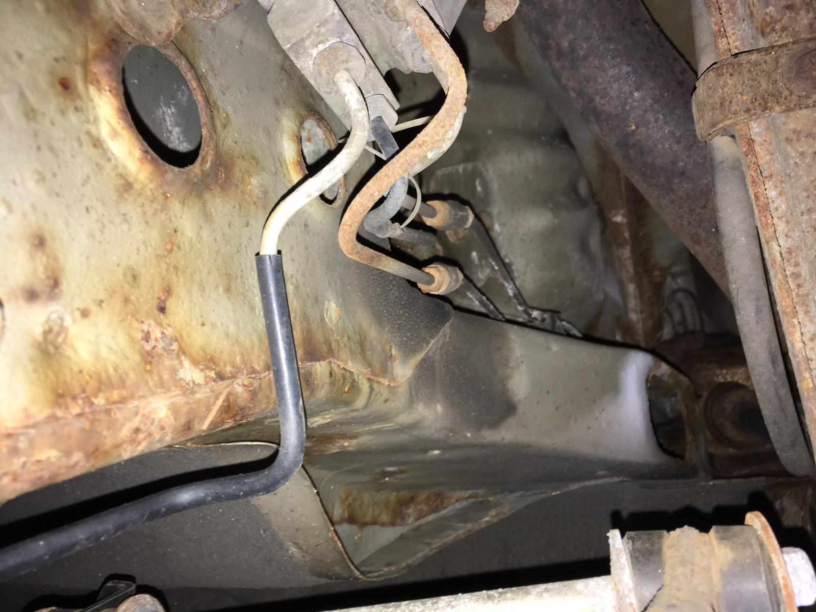 Replacing Front To Rear Brake Lines - Page 2