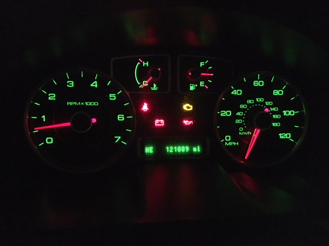 Speedometer and Tach are acting wacky, please help | Taurus