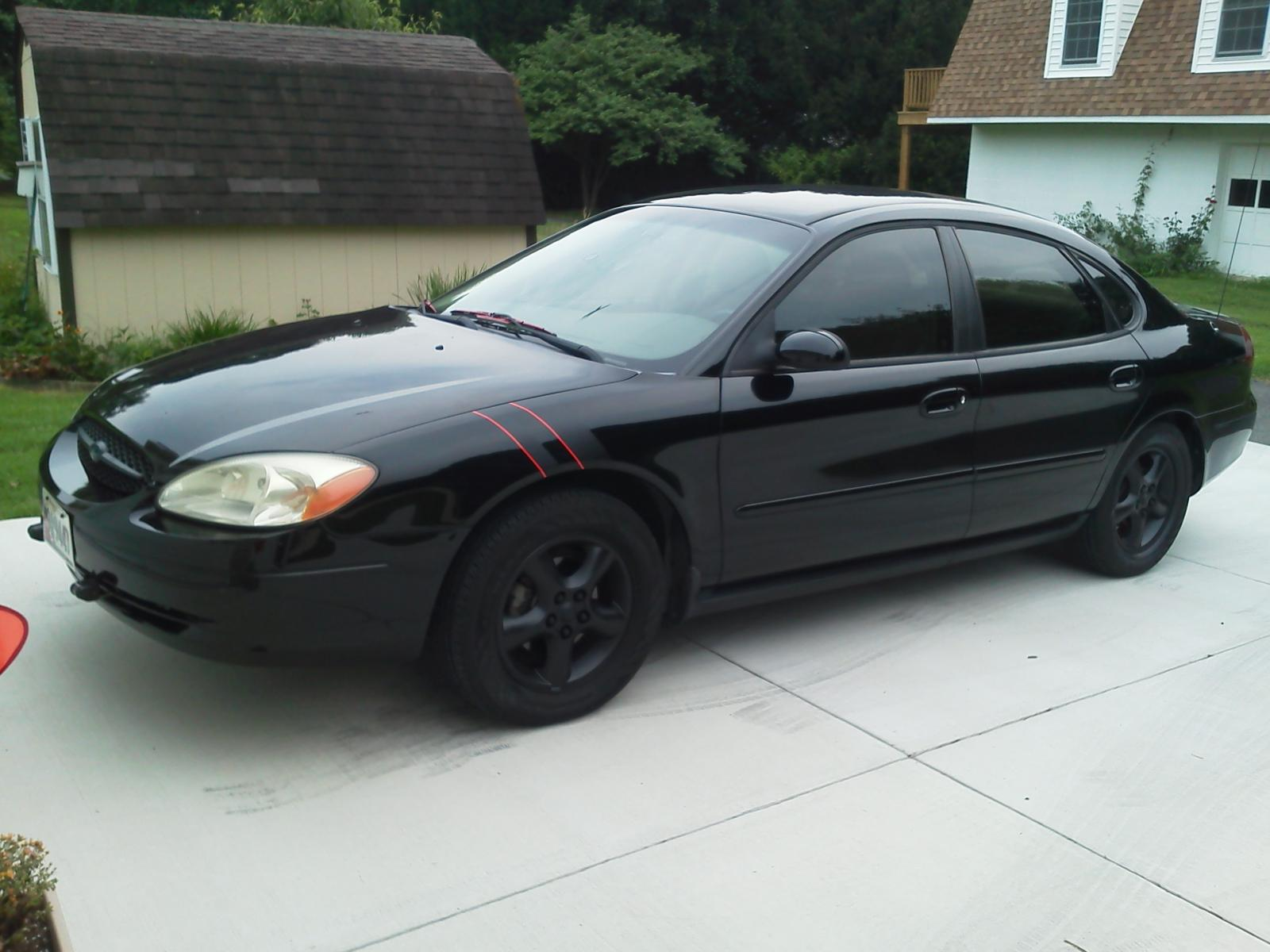 Matte Black Stripe and Wheels  Taurus Car Club of America  Ford