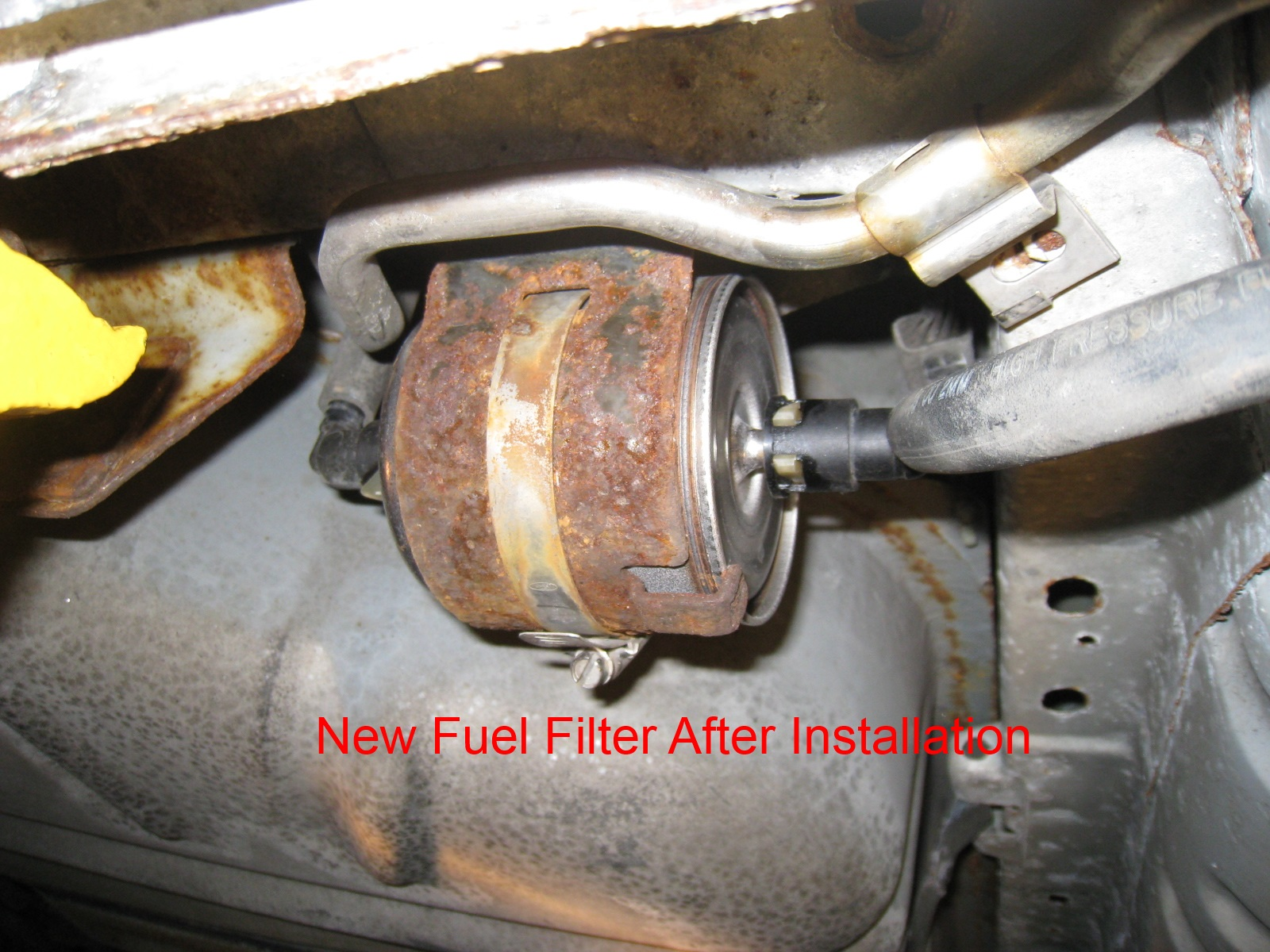 D How Replace Fuel Filter Taurus Se Pictures Img