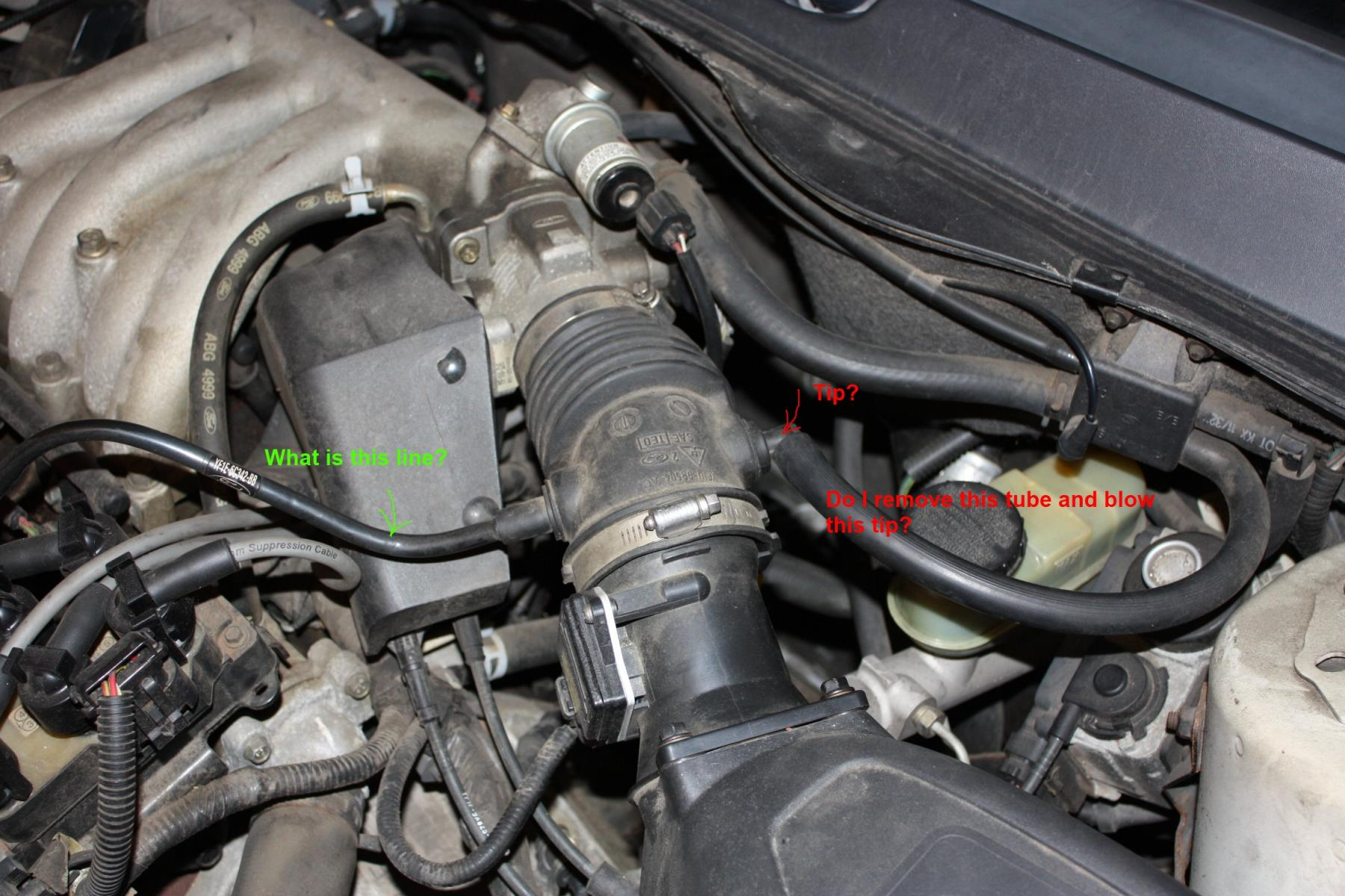 How To Perform Vacuum Leak Test With Smoke Taurus Car