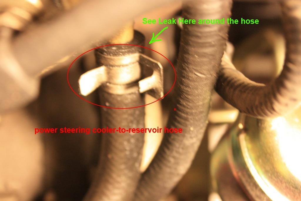 Power Steering Leak Hose Or Pump Taurus Car Club Of America
