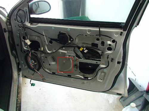 The Approriate Mounting Location For The Front Crossover   Taurus Car Club  Of America : Ford Taurus Forum