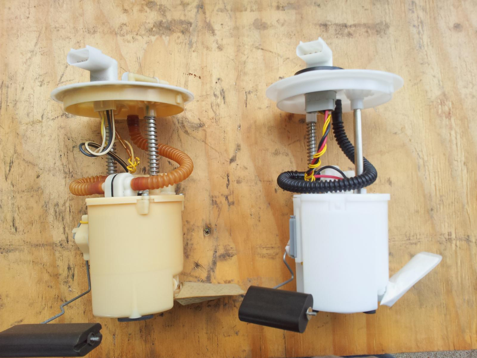 Click image for larger version name old vs new fuel pump side by