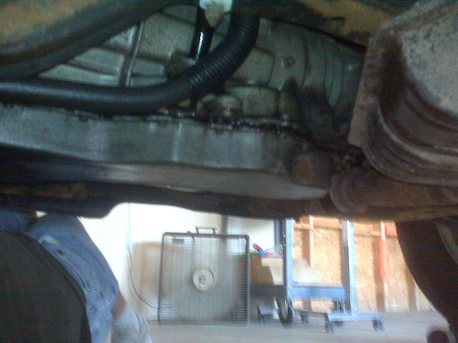 Transmission Leak with Photo-pan-leak.jpg